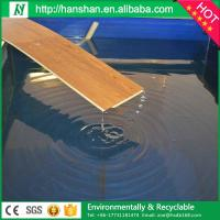 Embossed plastic type vinyl plank flooring with SGS from Hanshan Manufactures