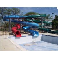 Custom Pool Water Slides For Holiday Resort Toddler Water Slide Manufactures
