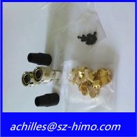 low price high quality soldering 12pin metal electrical HRS cross connectors Manufactures