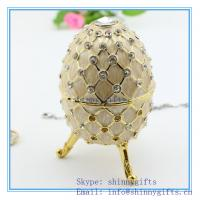 decorative egg jewelry box Faber egg /wedding gift Easter egg Manufactures