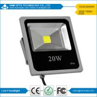 2017 popular new design 20W ultra thin led outdoor flood light IP66 Manufactures