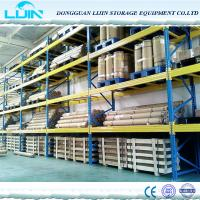 High Height Square Hole Steel Heavy Duty Pallet Storage Shelf for Industrial use