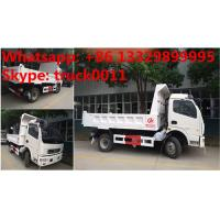 China 2017s new cheapest price dongfeng 4*2 LHD 3-5tons dump tipper truck for sale, factory sale dongfeng LHD tipper truck wholesale