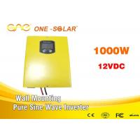 Buy cheap 1000 Watt 12v 24v 220v Solar Battery Inverter / Psw Inverter With DSP Chip from wholesalers