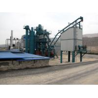 High Weighing Accuracy Asphalt Drum Mix Plant With Imported Burner And 60T Finished Product Silo Manufactures