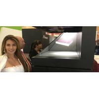 """42"""" 3D Holographic Display , Holographic Pyramid 3D Holo Screen Manufactures"""