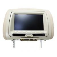 "China 7"" TFT LCD screen Headrest Car DVD Players with  Dual channel IR transmitter on sale"