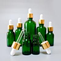 China serum dropper glass cosmetic glass essential oil bottle with paper tube packaging on sale