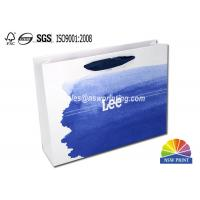 Upscaled 200g Coated Custom Paper Shopping Bags For Clothes Apparel Manufactures