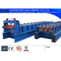 YX51-240-720 Type Metal Deck Roll Forming Machine Uesd 1.0-1.5mm Thickness PPGI Manufactures