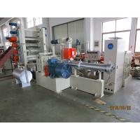 7 Roll Textile Calendering Machine , Pvc Sheet Making Machine 720mm Width Manufactures