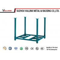 Light Duty Folded Tire Display Stands Storage Rack , Logistic Shipping Racks Manufactures