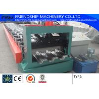 3-phase 60Hz Metal Deck Roll Forming Machine 15kw With Electric Control Cabinet Manufactures