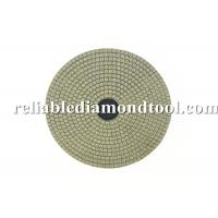 China Electroplated Flexible Round Diamond Wet Polishing Pads 100mm Diameter on sale