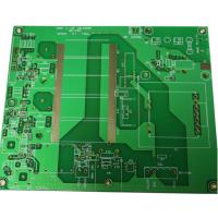 China RF Remote Control Transmitter Rogers PCB , 0.508mm TG135 Customized green pcb Board on sale