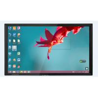 75 Inch Ultra thin touch screen monitor with anti glare glass for education Manufactures