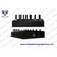 GPS Satellite Mobile Phone Scrambler , Cordless Phone Jammer 24W Total Output
