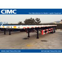40 feet 2 axles Carbon Steel Flat Bed Container Semi-Trailer 9302TJZP Manufactures