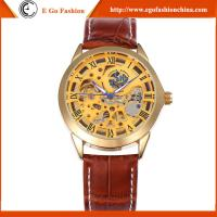 China SH12 Hollow Out Skeleton Watch for Man Mechnical Watches Gift Promotional Watch for Mens on sale
