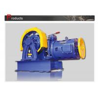 Elevator Parts / Geared Traction Machine With AC Motor , Load 800 - 1000 KG  SN-TMYJ210A