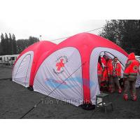 China Large Medical Inflatable Tents Dome Portable Canopy Shelter For Hospital on sale