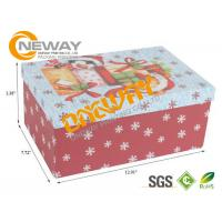 Colorful Printed Custom size Gift Card Boxes For Christmas , CMYK Or Pantone Manufactures
