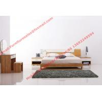 Modern bedroom furniture by MDF bed set in glossy painting melamine Manufactures
