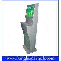 Self Service Interactive Touch Screen Kiosk With Rugged Metal Keyboard