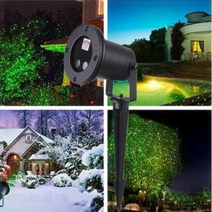 Waterproof laser star for outdoor.Landscape Green & red laser Projector