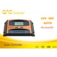 China original design60A pwm charge controller,pwm solar charge controller  48v24v auto Manufactures