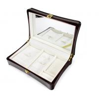 China Luxury Wood Gift Box Packaging / Wooden Jewelry Case In Glossy Finish on sale