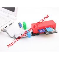 China USB Truck Multi-Card Reader Hub Combo wholesale