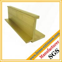 China leaded brass extrusion profiles manufacturer on sale
