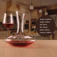 China Unique Gift Idea Lead Free Cold Cutting Red Wine Decanter Crystal for Sale wholesale