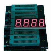 China 0.80 Inch 4 Digit LED Numeric Display, Widely Used for LED Clock Display on sale
