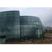 Bathroom Euro Grey Float Tempered Glass Sheets Fire Resistant Shockproof Manufactures