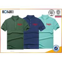 China Men'S Navy Color Personalized Polo Shirts Stand Collar Fashion T - Shirt on sale