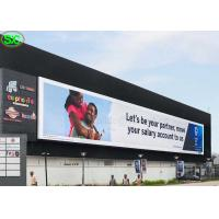 China P10 High Resolution Advertising Full Color LED Screens IP65 Waterproof wholesale