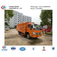 factory sale forland small RHD road sweeper truck for sale,best price FORLAND RHD street sweeping vehicle for sale