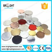 hot sale metal candle lids with customized logo for candle jar Manufactures