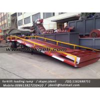 China moveable Dock Ramp,hydraulic ramp for forklift,hydraulic loading platform,loading platform on sale