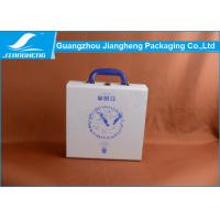 OEM Branded Mid Size White PU Leather With Wooden Gift Box Manufactures
