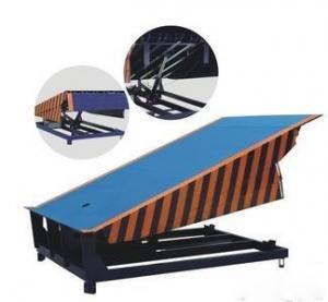 China Custom Stationary Hydraulic Dock Leveler , Warehouse Dock Ramps DCQ8-0.7 on sale