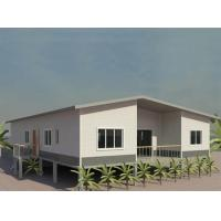 Portable Prefab Granny Unit high set town house in steel structure at low price, special for PNG market Manufactures