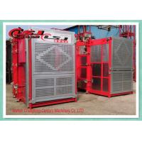 Stable Performance Rack And Pinion Elevator Double Cabin For Man Material Lifting Manufactures