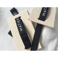 China 12mm Ribbon Attached Creative Clothing Hang Tags Retail Clothing Tags 3D Feel on sale