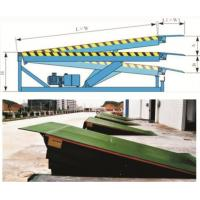 China Hot sale! Fixed hydraulic dock ramp DCQ10-0.7- cargo handling auxiliary equipment on sale