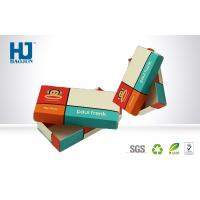 Advertising Superior Cardboard Packing Boxes Custom Made For Chocolate Manufactures