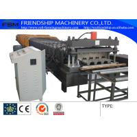 Automatic 28 Stations And 10T Manual Decoiler Roll Forming Machine With 1.5MM - 2.5MM Manufactures