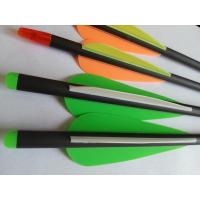 carbon arrow, hunting arrow, crossbow green carbon arrow, carbon fibre arrow Manufactures